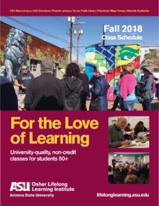 ASU Fall '18 catalog